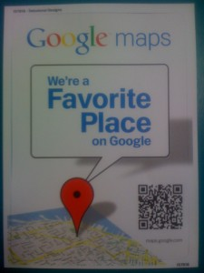 Google's Favorite Place