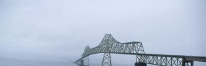 Astoria - Megler bridge from Astoria Side